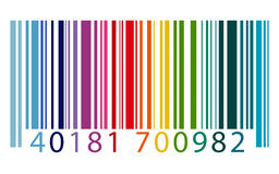 Concepto de la encripción de datos del márketing de la identidad del código de barras libre illustration