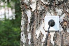 Concepto de la energía de Eco Imágenes de archivo libres de regalías