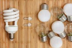Concepto de la energía de Eco foto de archivo