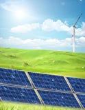 Concepto de la energía limpia imagen de archivo