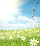 Concepto de la energía limpia fotografía de archivo