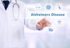 Concepto de la enfermedad de Alzheimers Fotografía de archivo