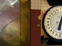 Concepto de la escala de medición foto de archivo
