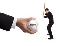 Concepto de la estrategia empresarial Imagen de archivo libre de regalías