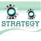Concepto de la estrategia empresarial Fotos de archivo