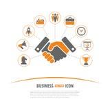 Concepto de la estrategia empresarial Foto de archivo