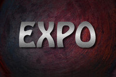 Concepto de la expo Fotografía de archivo