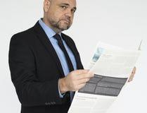 Concepto de la expresión de Adult Portrait Occupation del hombre de negocios Imagenes de archivo