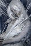 Concepto de la fantasía, mujer joven sensual imagen de archivo