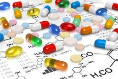 Concepto de la farmacia Imagenes de archivo