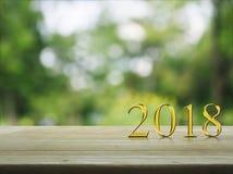 Concepto 2018 de la Feliz Año Nuevo Imagenes de archivo