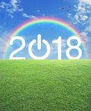 Concepto de la Feliz Año Nuevo Fotos de archivo