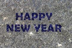 Concepto de la Feliz Año Nuevo Fotografía de archivo