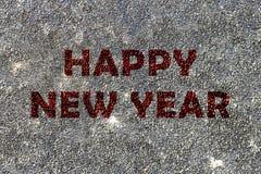 Concepto de la Feliz Año Nuevo Foto de archivo libre de regalías