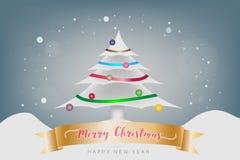 Concepto de la Feliz Navidad y del festival de la Feliz Año Nuevo La Navidad C Fotografía de archivo
