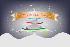 Concepto de la Feliz Navidad y del festival de la Feliz Año Nuevo La Navidad C Fotografía de archivo libre de regalías