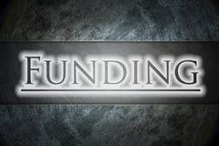 Concepto de la financiación Imagen de archivo libre de regalías
