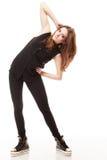 Concepto de la gente - adolescente en ropa casual Imágenes de archivo libres de regalías