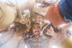 Concepto de la gente del mar de las vacaciones de verano de la playa Imagen de archivo