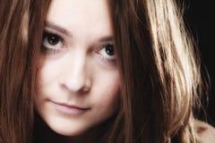 Concepto de la gente - retrato del adolescente Fotos de archivo
