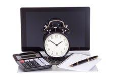 Concepto de la gestión del plazo o de tiempo del negocio Fotografía de archivo libre de regalías
