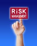 Concepto de la gestión de riesgos Foto de archivo