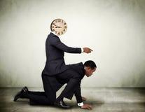 Concepto de la gestión de tiempo Foto de archivo libre de regalías