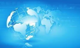 Concepto de la globalización Imagen de archivo
