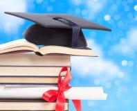 Concepto de la graduación Foto de archivo libre de regalías