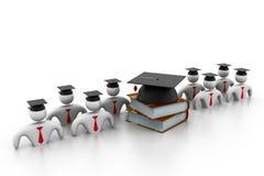 Concepto de la graduación Imagenes de archivo