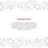 Concepto de la granja Foto de archivo libre de regalías