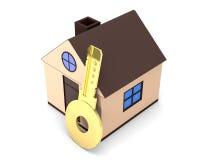 Concepto de la hipoteca Foto de archivo