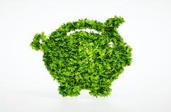 Concepto de la hucha de Eco Fotos de archivo libres de regalías
