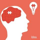 Concepto de la idea Imagen de archivo