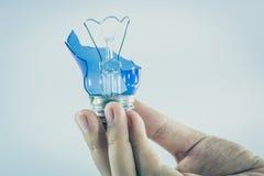 Concepto de la idea con las bombillas foto de archivo libre de regalías