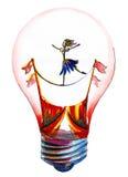 Concepto de la idea, ilustración del vector Imagen de archivo