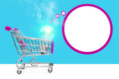 Concepto de la idea Nuevas ideas en comercio El concepto de venta y de compra Ideas del negocio Imagen de archivo