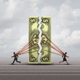 Concepto de la igualdad de salario libre illustration