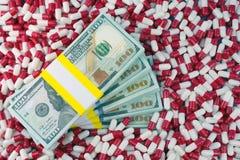 Concepto de la industria farmac?utica foto de archivo libre de regalías