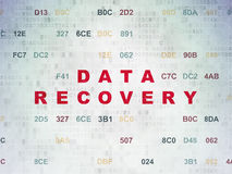 Concepto de la información: Recuperación de los datos en digital Fotos de archivo
