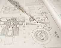 Concepto de la ingeniería fotografía de archivo libre de regalías