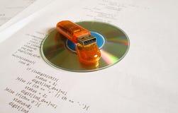 Concepto de la ingeniería de programas informáticos imagen de archivo