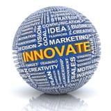 Concepto de la innovación del negocio Imágenes de archivo libres de regalías