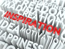 Concepto de la inspiración. Foto de archivo