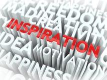Concepto de la inspiración. Imagen de archivo libre de regalías