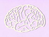 Concepto de la inteligencia artificial imagen de archivo libre de regalías