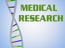 Concepto de la investigación médica Imagen de archivo