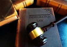 Concepto de la ley de la inmigración foto de archivo libre de regalías