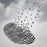 Concepto de la libertad de la identidad Imagen de archivo libre de regalías