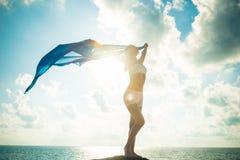 Concepto de la libertad y de la belleza Imagen de archivo libre de regalías